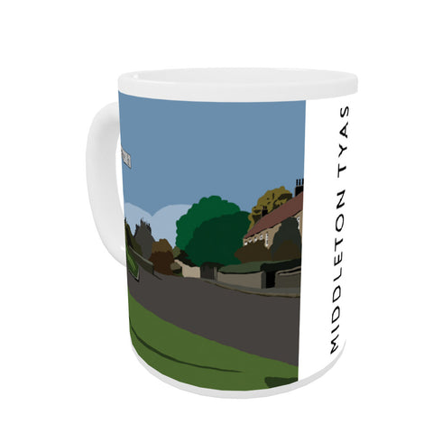 Middleton Tyas, Yorkshire Coloured Insert Mug