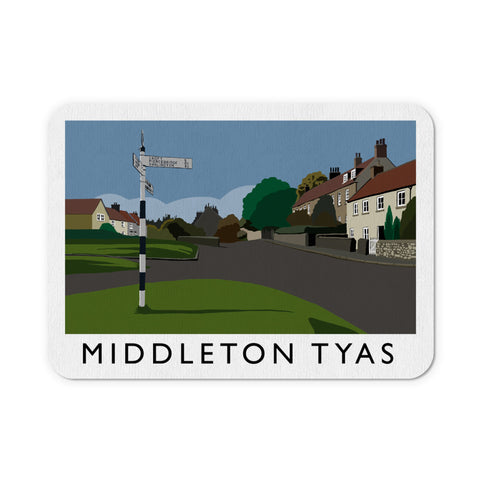 Middleton Tyas, Yorkshire Mouse Mat