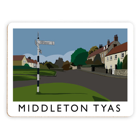 Middleton Tyas, Yorkshire Placemat