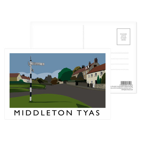 Middleton Tyas, Yorkshire Postcard Pack