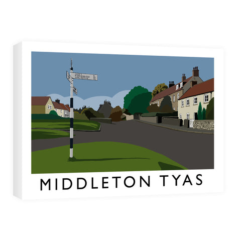 Middleton Tyas, Yorkshire Canvas