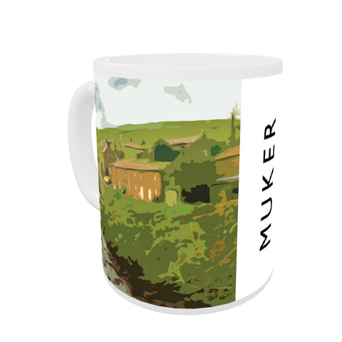 Muker, Yorkshire Coloured Insert Mug