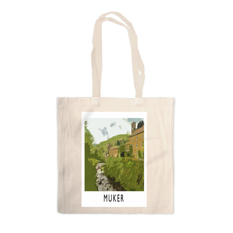 Muker, Yorkshire Canvas Tote Bag
