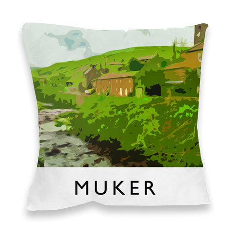 Muker, Yorkshire Fibre Filled Cushion