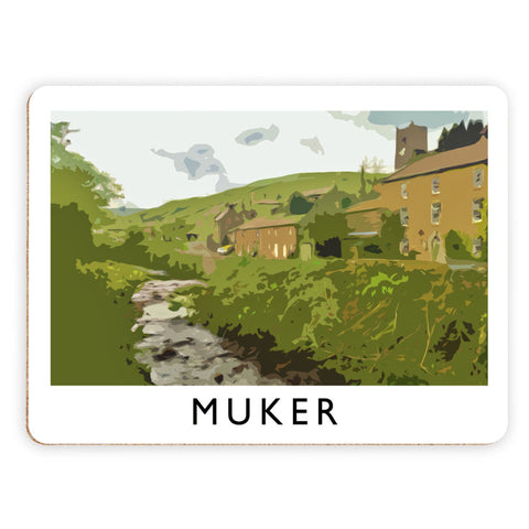 Muker, Yorkshire Placemat