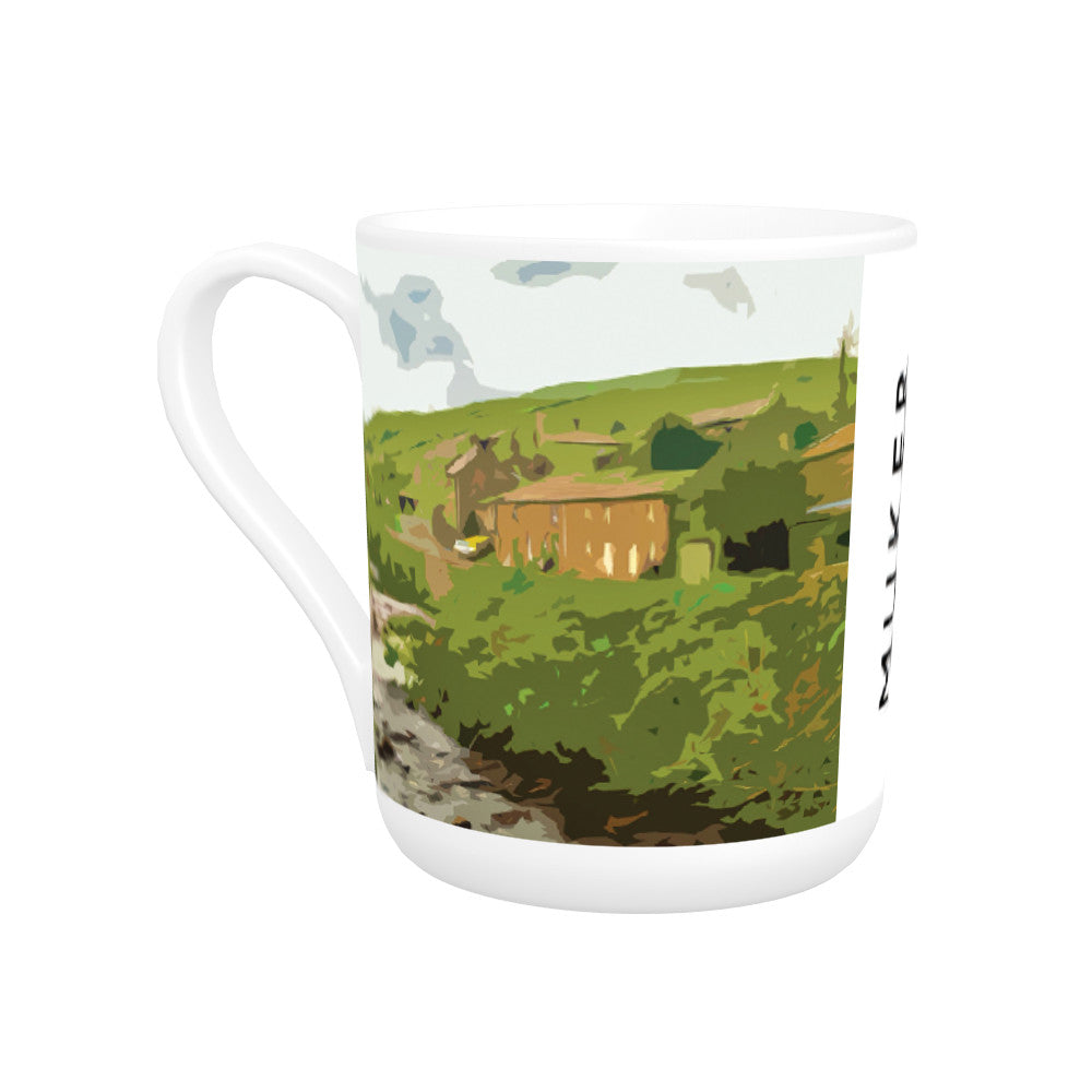 Muker, Yorkshire Bone China Mug