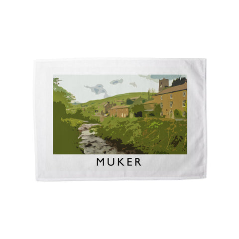 Muker, Yorkshire Tea Towel