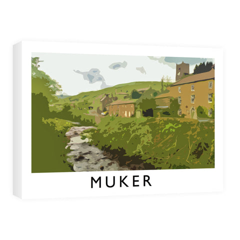 Muker, Yorkshire Canvas