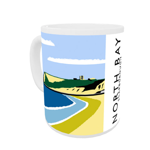 Scarborough, Yorkshire Coloured Insert Mug