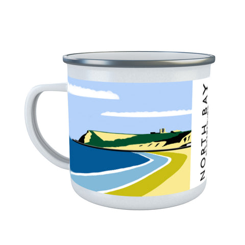 Scarborough, Yorkshire Enamel Mug