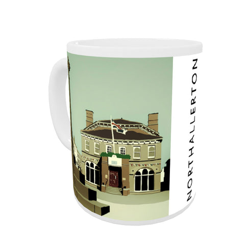 Northallerton, Yorkshire Coloured Insert Mug