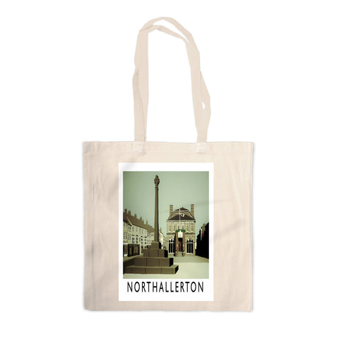 Northallerton, Yorkshire Canvas Tote Bag