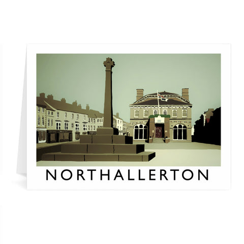 Northallerton, Yorkshire Greeting Card 7x5