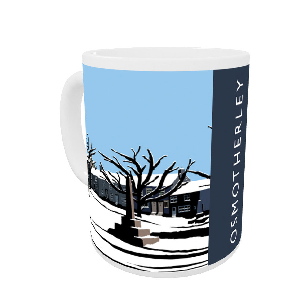 Osmotherley, Yorkshire Coloured Insert Mug
