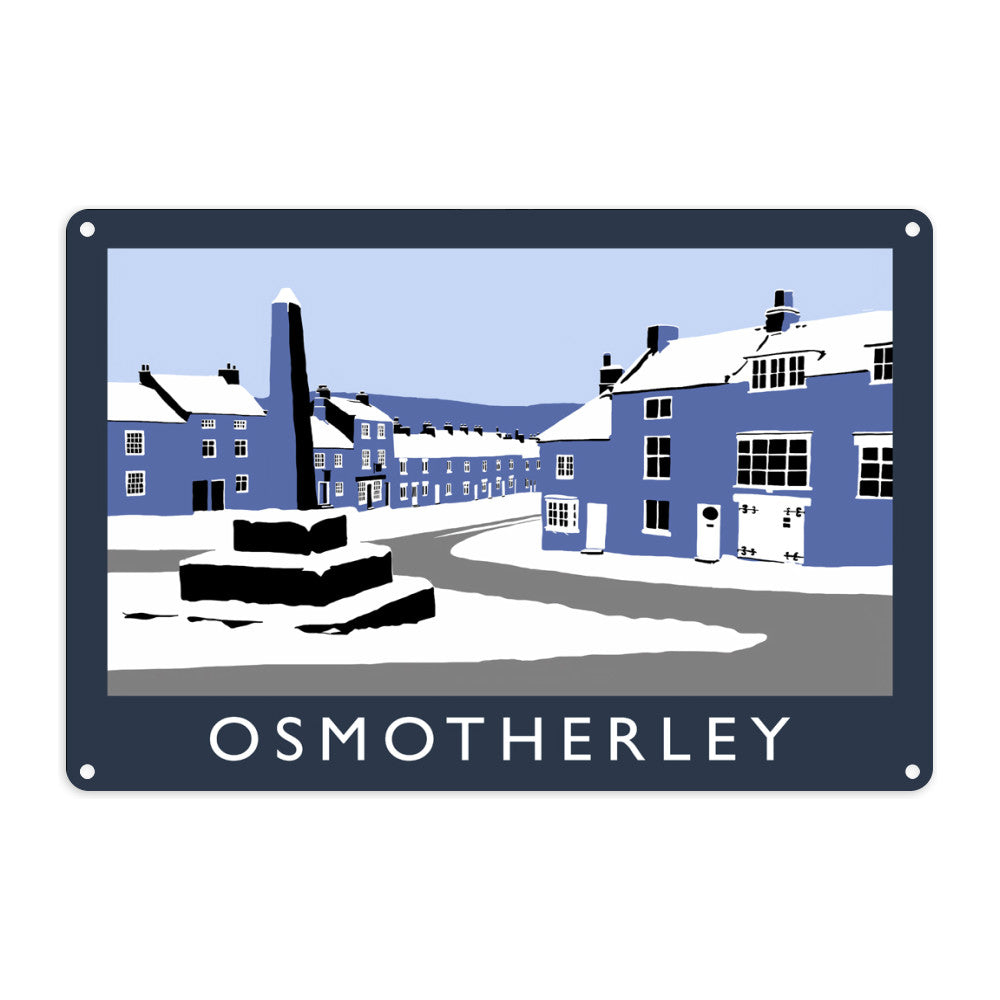 Osmotherley, Yorkshire Metal Sign