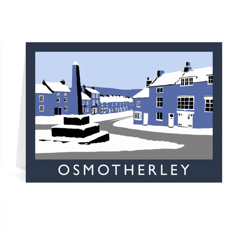 Osmotherley, Yorkshire Greeting Card 7x5
