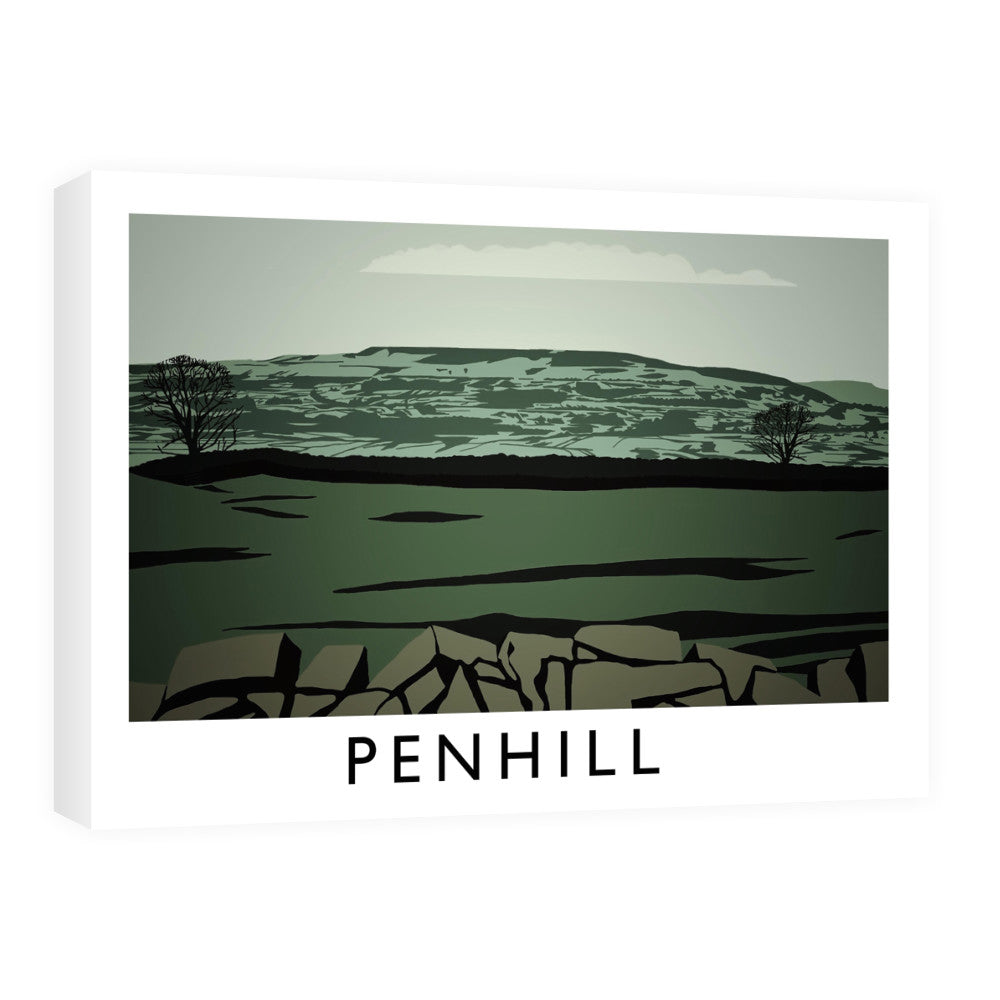 Penhill, Yorkshire Canvas