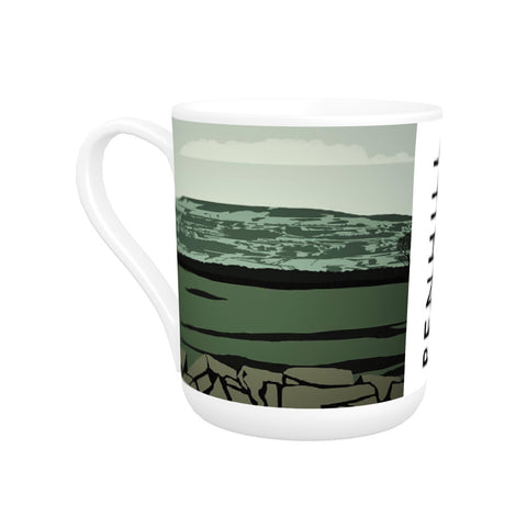 Penhill, Yorkshire Bone China Mug