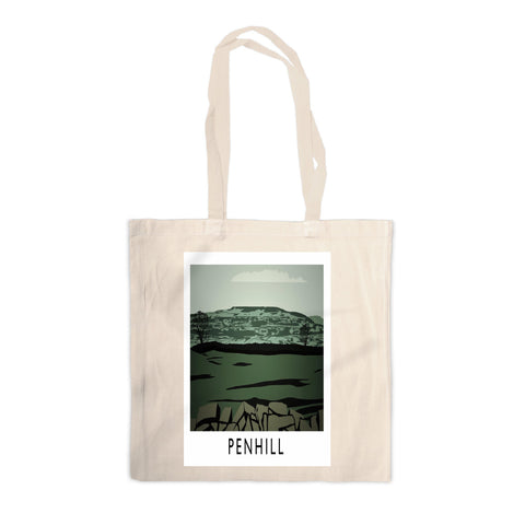 Penhill, Yorkshire Canvas Tote Bag