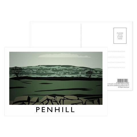 Penhill, Yorkshire Postcard Pack