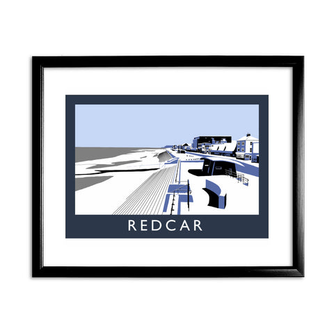 Redcar, North Yorkshire 11x14 Framed Print (Black)