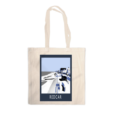 Redcar, North Yorkshire Canvas Tote Bag