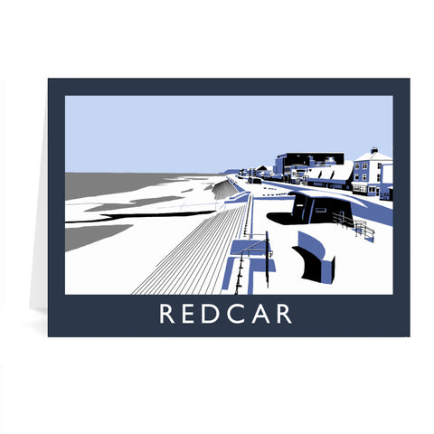 Redcar, North Yorkshire Greeting Card 7x5