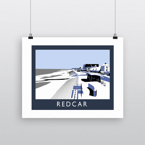 Redcar, North Yorkshire Fine Art Print