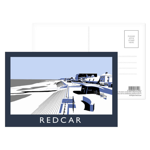 Redcar, North Yorkshire Postcard Pack