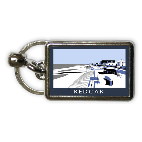 Redcar, North Yorkshire Metal Keyring