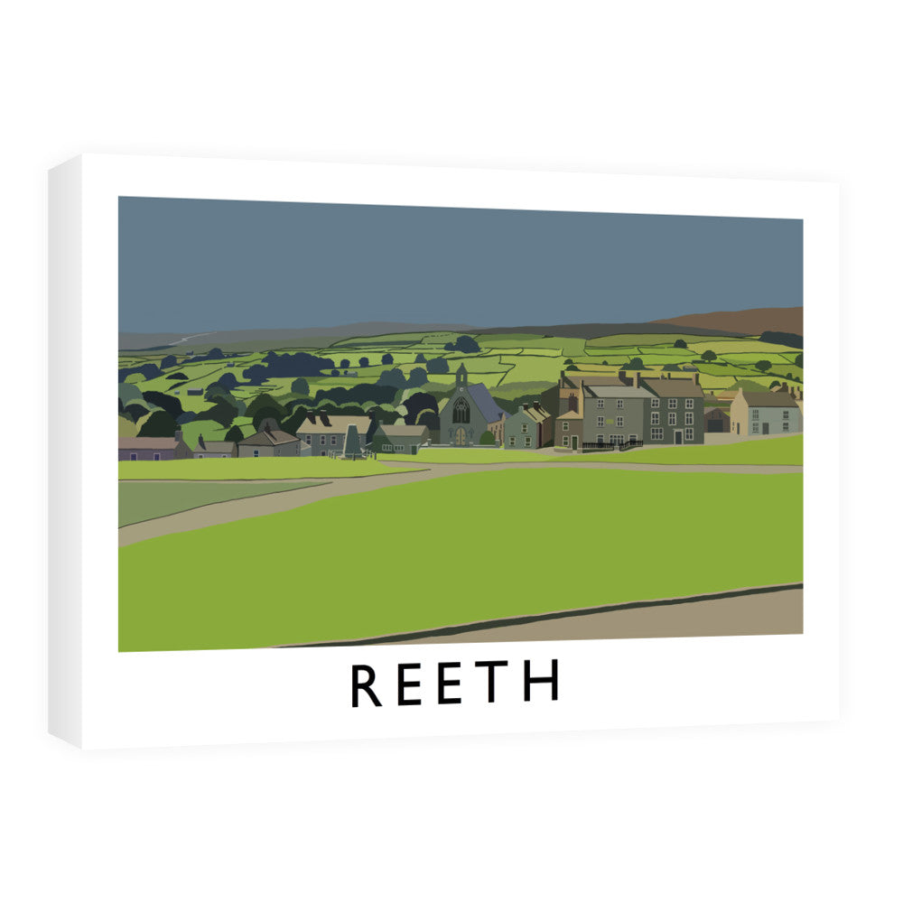 Reeth, Yorkshire Canvas