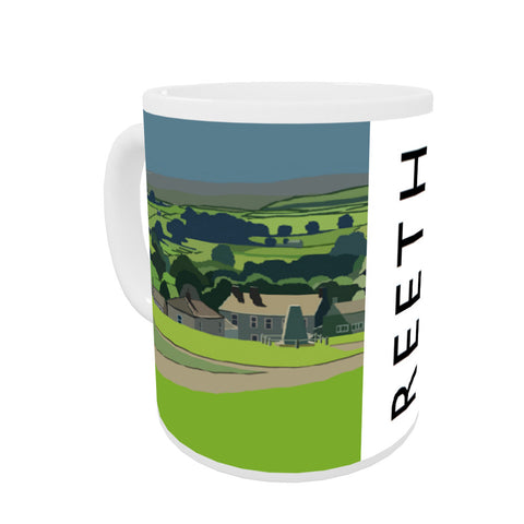 Reeth, Yorkshire Coloured Insert Mug