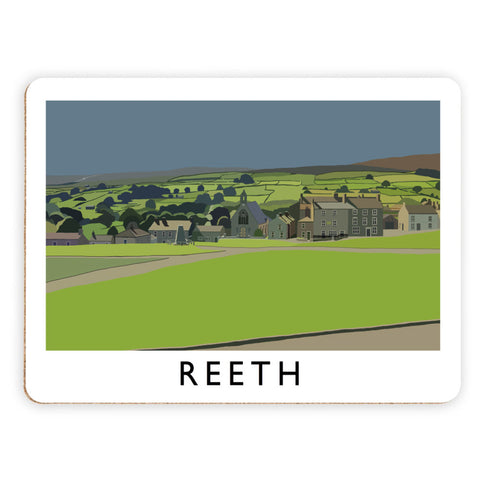 Reeth, Yorkshire Placemat