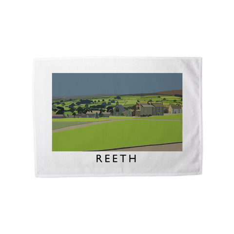 Reeth, Yorkshire Tea Towel