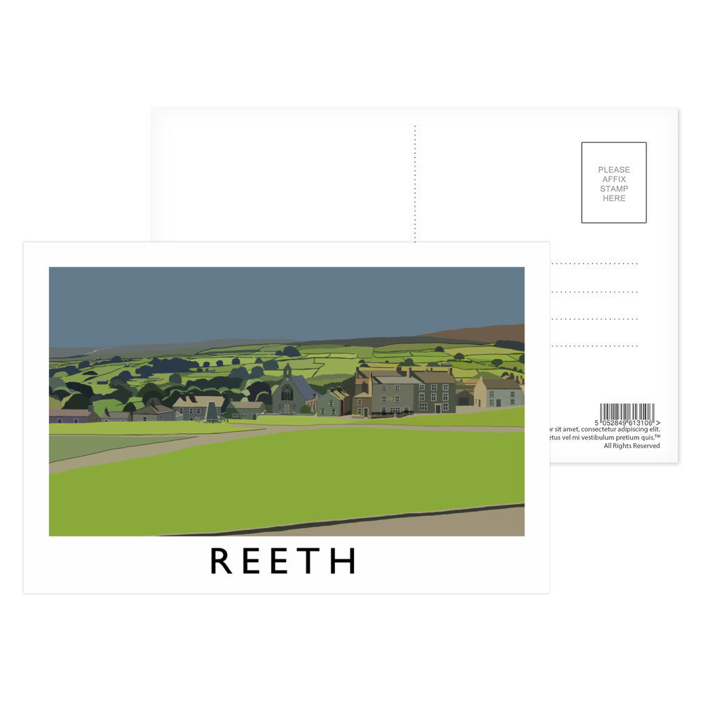 Reeth, Yorkshire Postcard Pack
