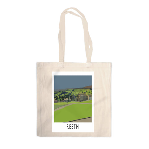 Reeth, Yorkshire Canvas Tote Bag