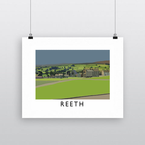 Reeth, Yorkshire Fine Art Print