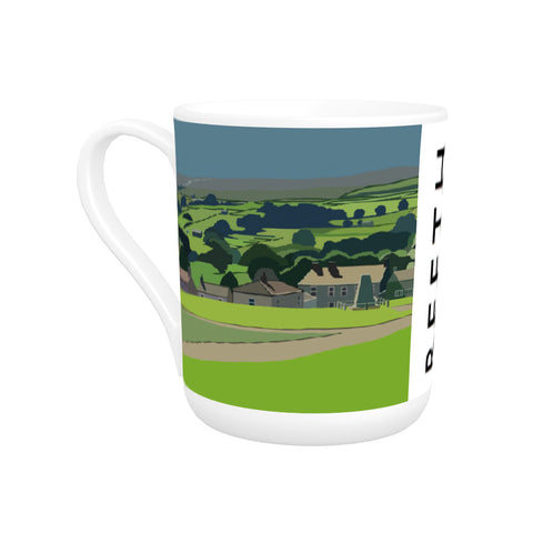 Reeth, Yorkshire Bone China Mug
