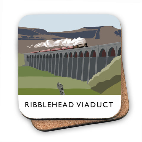 The Ribblehead Viaduct, Yorkshire MDF Coaster
