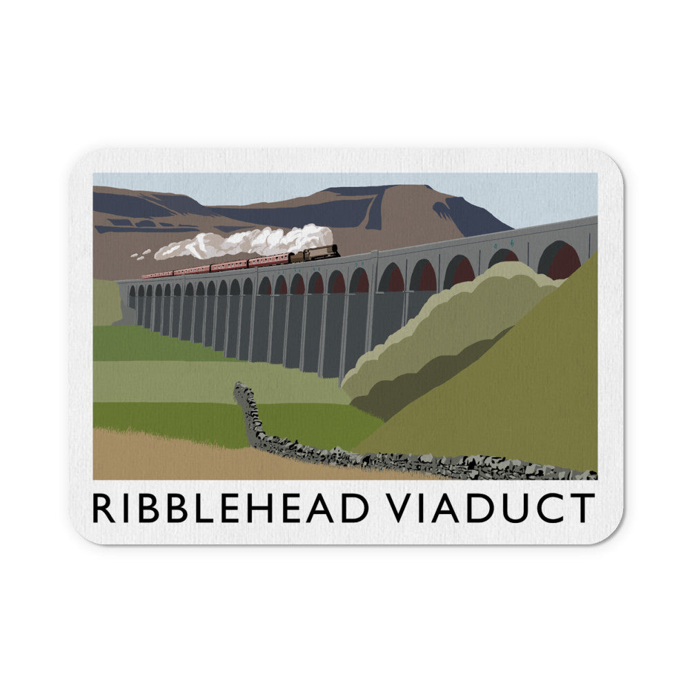 The Ribblehead Viaduct, Yorkshire Mouse Mat