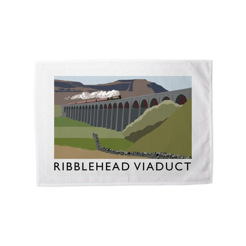 The Ribblehead Viaduct, Yorkshire Tea Towel