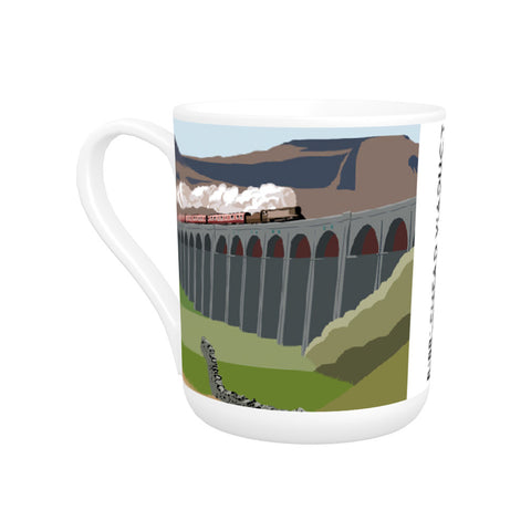 The Ribblehead Viaduct, Yorkshire Bone China Mug