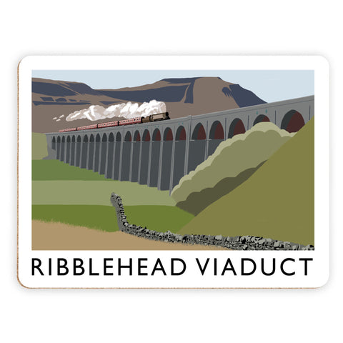 The Ribblehead Viaduct, Yorkshire Placemat