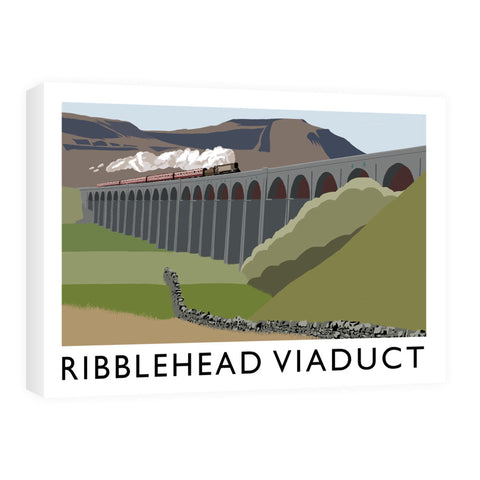 The Ribblehead Viaduct, Yorkshire Canvas