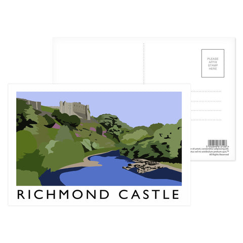 Richmond Castle, Yorkshire Postcard Pack