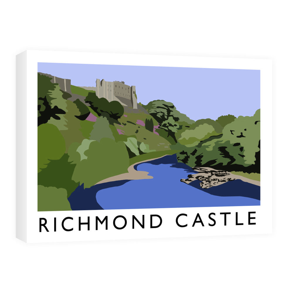 Richmond Castle, Yorkshire Canvas