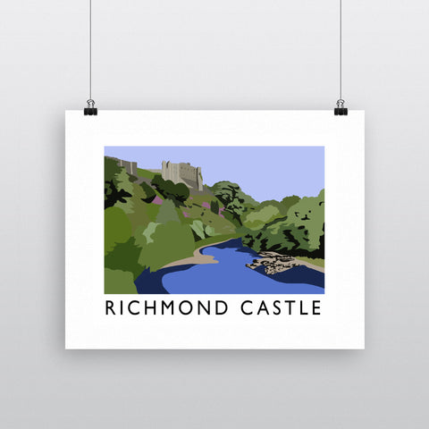 Richmond Castle, Yorkshire Fine Art Print