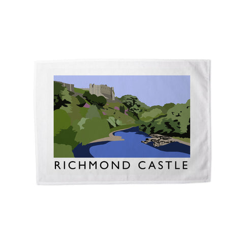 Richmond Castle, Yorkshire Tea Towel