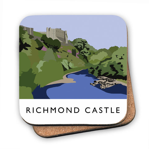 Richmond Castle, Yorkshire MDF Coaster