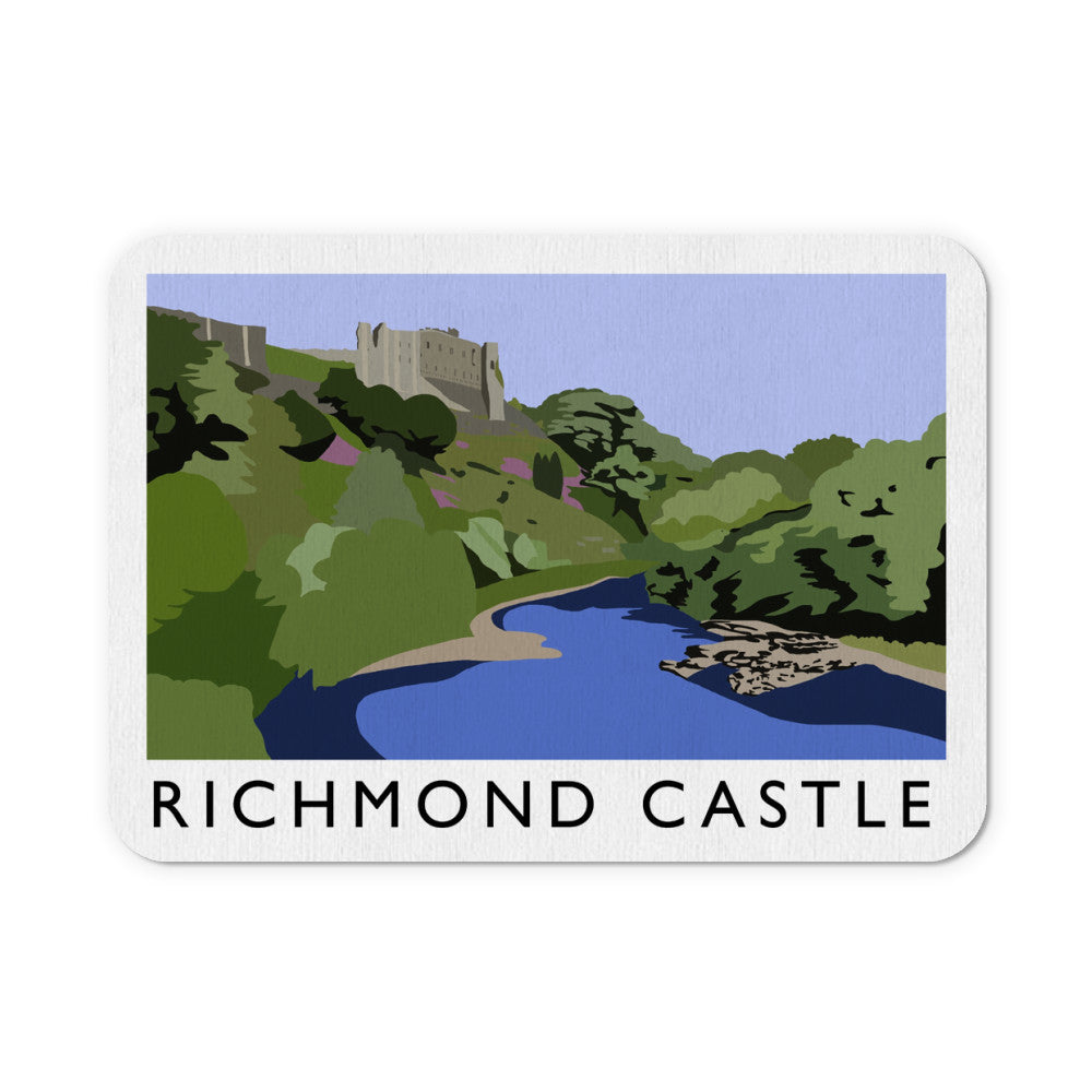 Richmond Castle, Yorkshire Mouse Mat